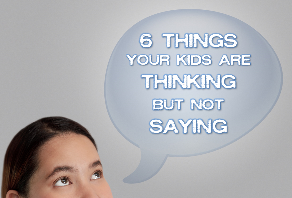 Thinking but not saying