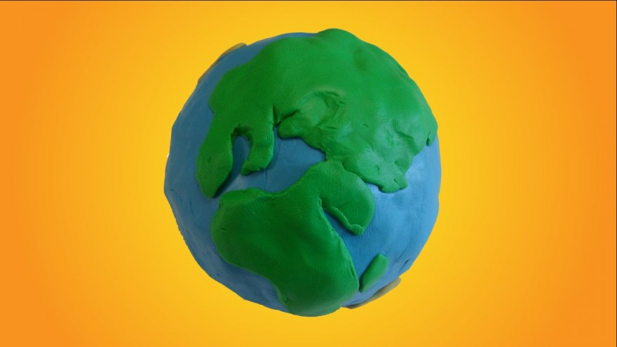 Earth is Playdough