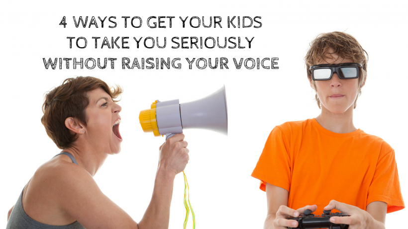 without raising your voice