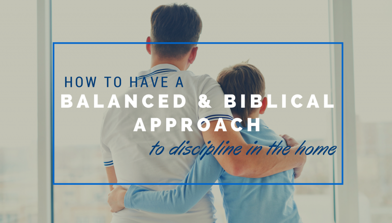 Balanced & Biblical Approach