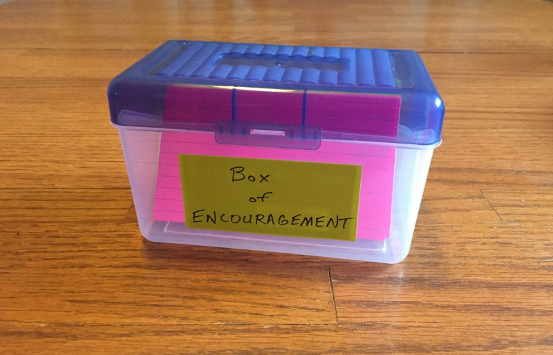 Box of Encouragement