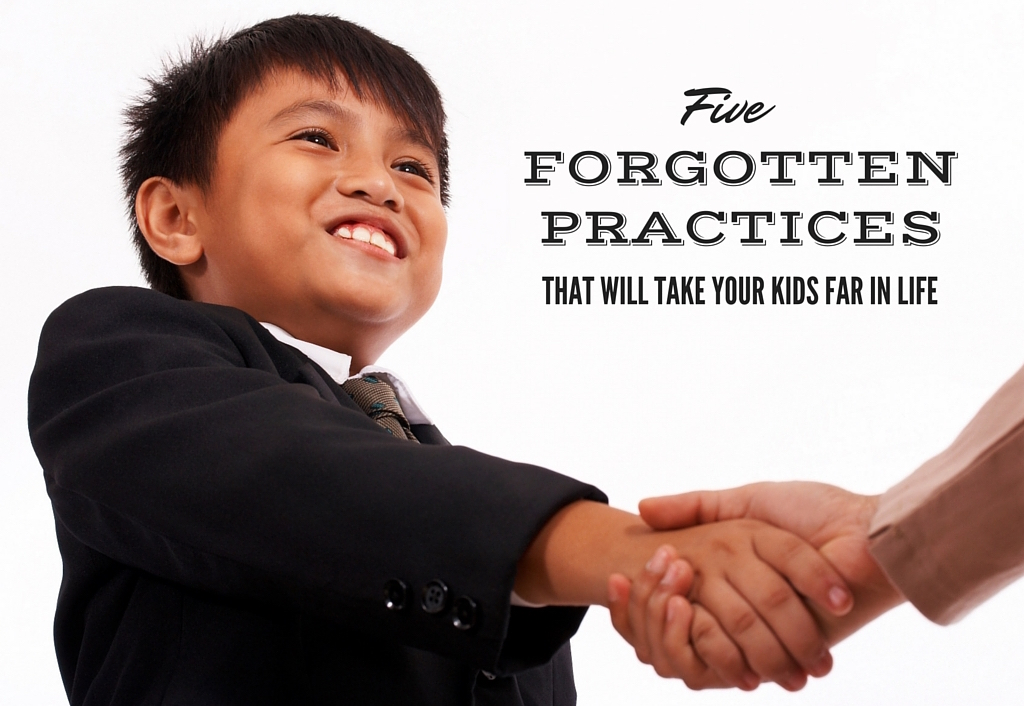 Five Forgotten Practices