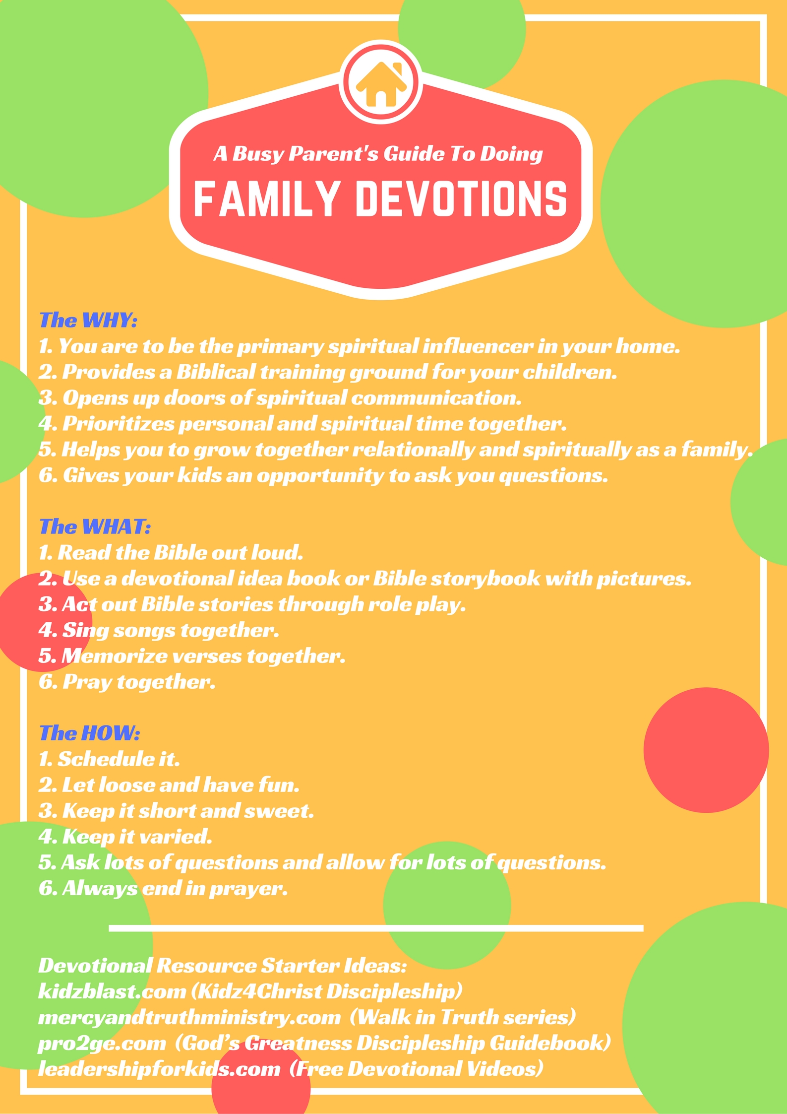 Family Devo Guide